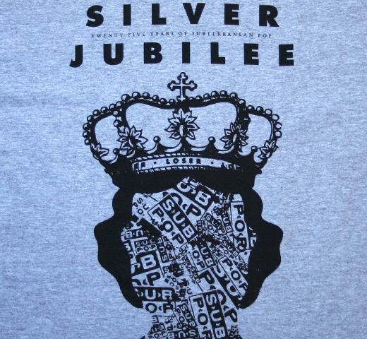 Sub Pop Records / Silver Jubilee Tee (Heather Grey)