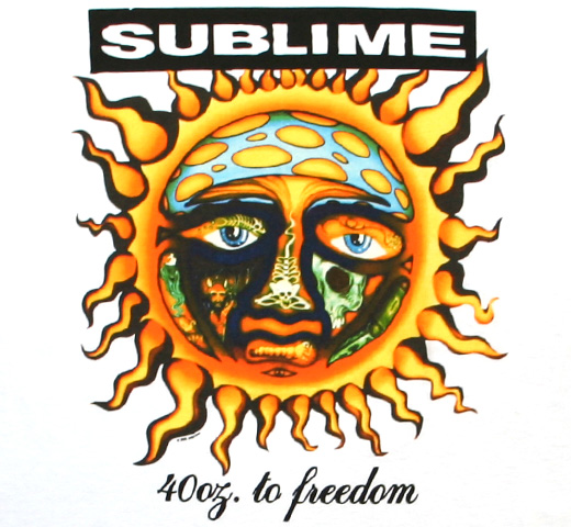 Sublime / 40 Oz. To Freedom Tee (White)