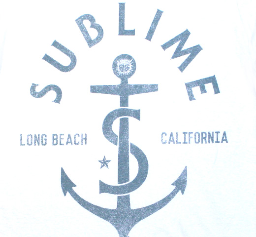 Sublime / Anchor 1988 Tee (White)