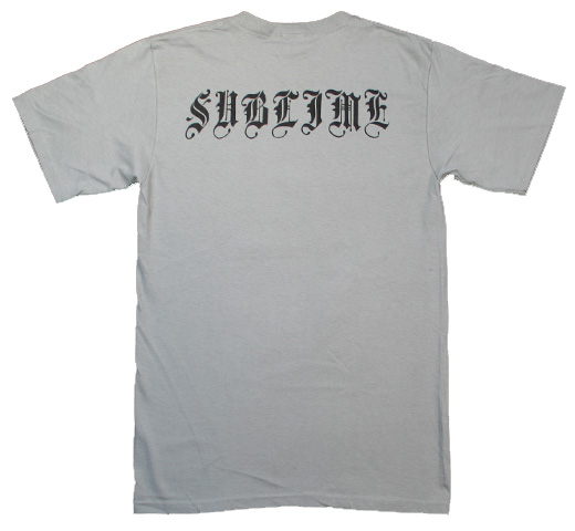 Sublime / Bradley Nowell Tee 1 (Storm Grey)