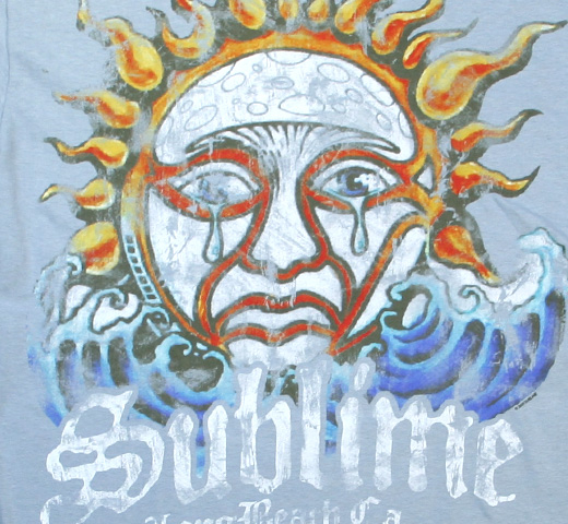 Sublime / Weeping Sun Tee (Stone Blue)