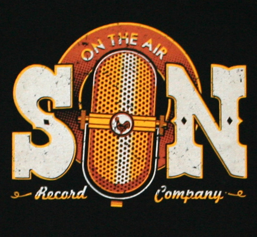 Sun Records / On the Air Tee (Black)