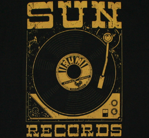 Sun Records / Player Tee (Black)