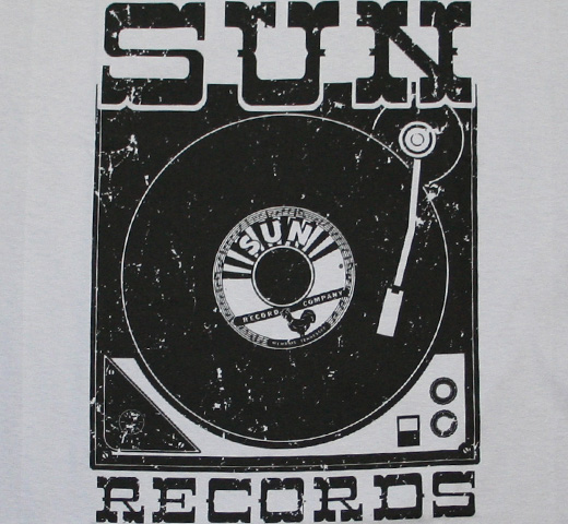 Sun Records / Player Tee (Light Grey)