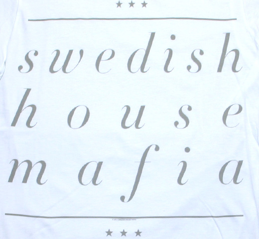 Swedish House Mafia / Underline Name Tee (White)