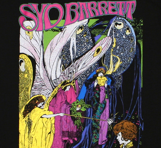 Syd Barrett / Commemoration Tee (Black)