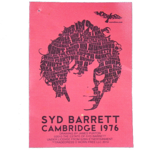【Worn Free】 Syd Barrett / Lyrical Portrait Tee (Grey)