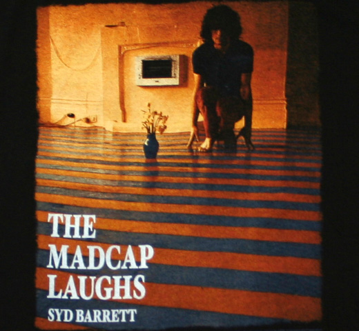 Syd Barrett / The Madcap Laughs Tee (Black)