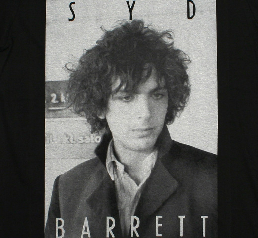 Syd Barrett / Portrait Tee 2 (Black)