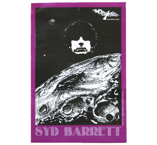 【Worn Free】 Syd Barrett / Space Syd Tee (Vintage Black)