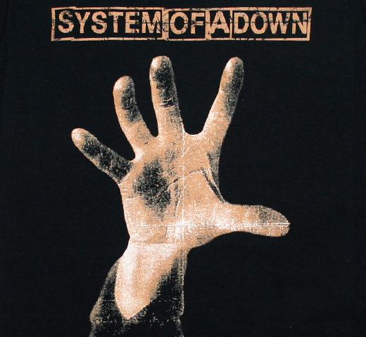 System of a Down / System of a Down Tee (Black)