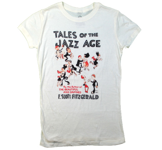 【Out of Print】 F. Scott Fitzgerald / Tales of the Jazz Age Tee (Ivory) (Womens)