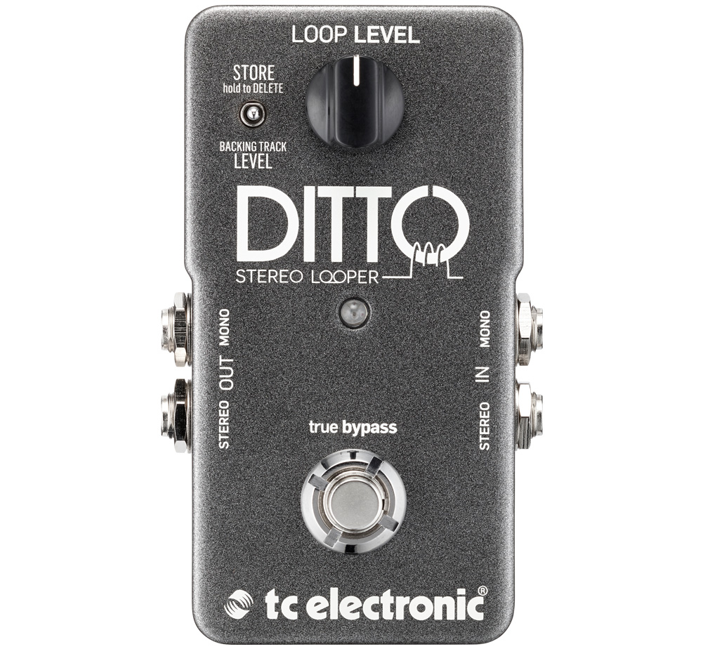 【tc electronic】 Ditto Stereo Looper