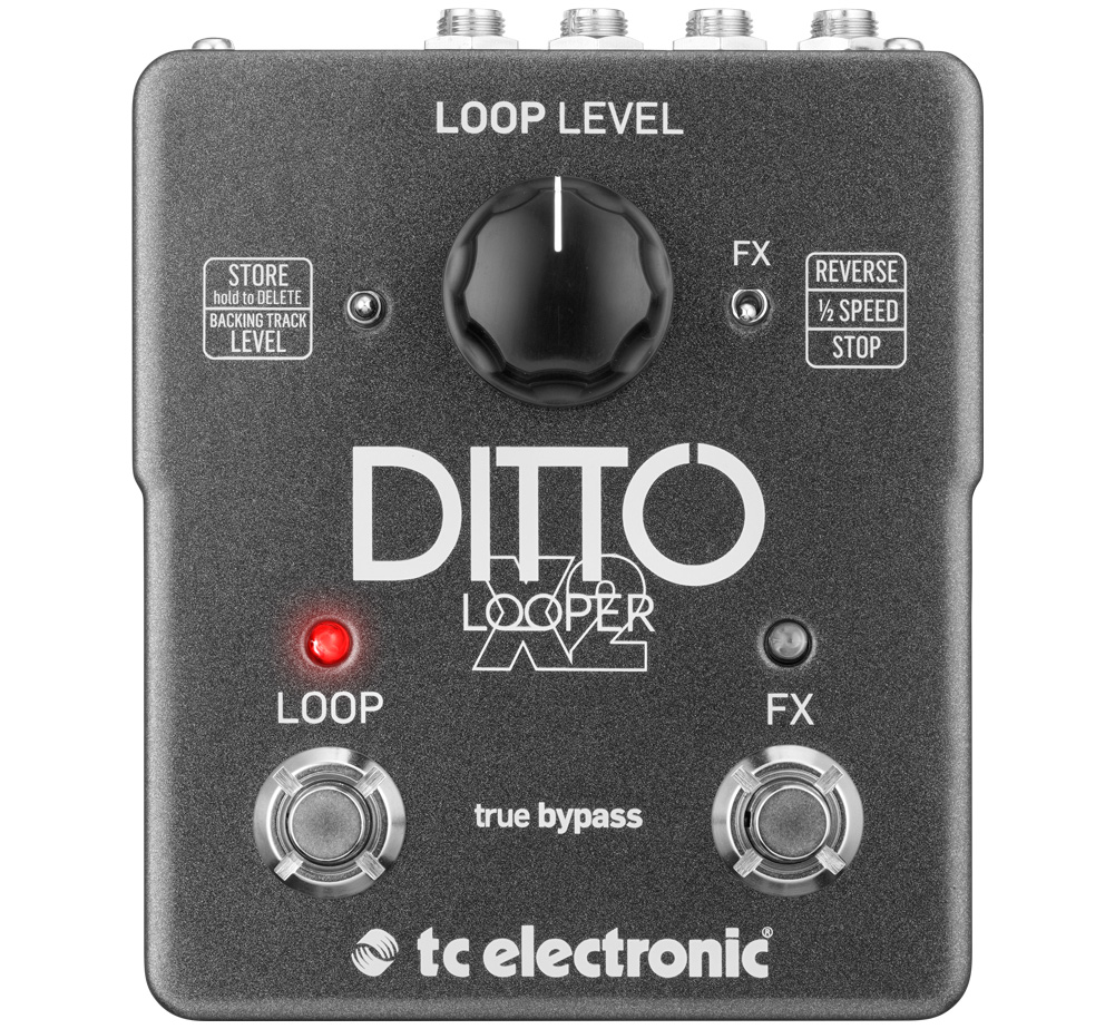 【tc electronic】 Ditto X2 Looper