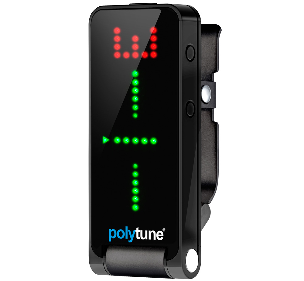 【tc electronic】 PolyTune Clip Black