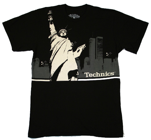 【SALE 50% OFF】 Technics / Liberty City Tee