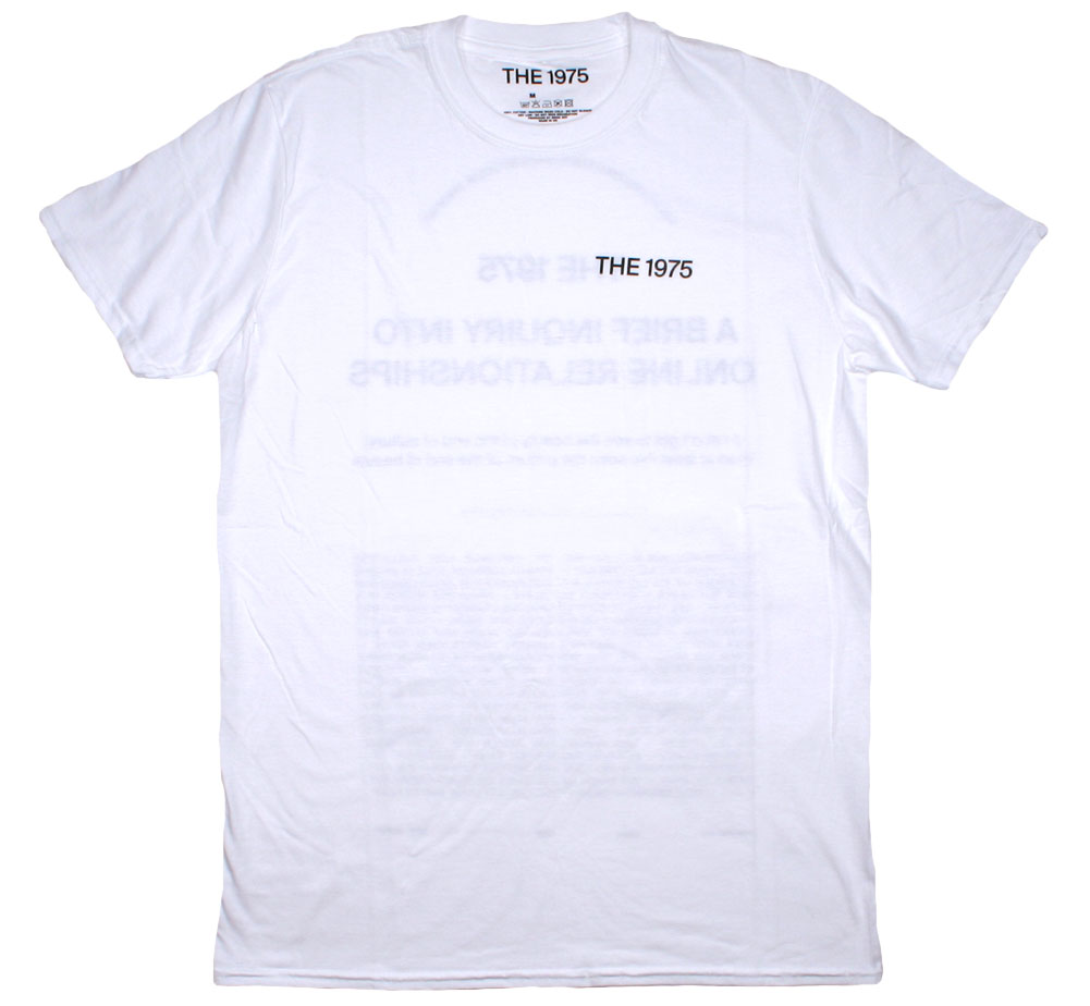 The 1975 / A Brief Inquiry into Online Relationships Tee 3 (White)