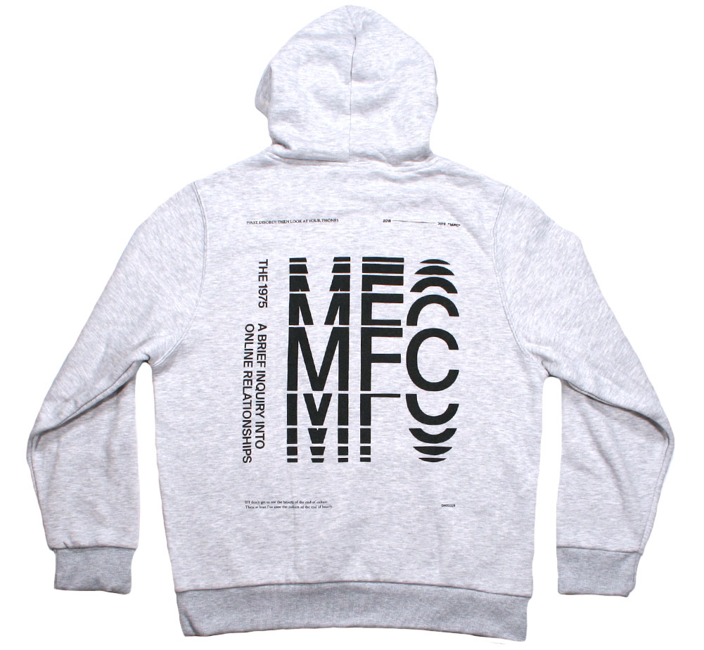 The 1975 / A Brief Inquiry into Online Relationships Hood 2 (Grey)