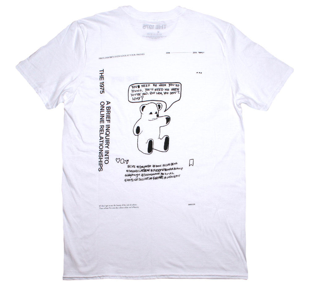 The 1975 / A Brief Inquiry into Online Relationships Tee 2 (White)