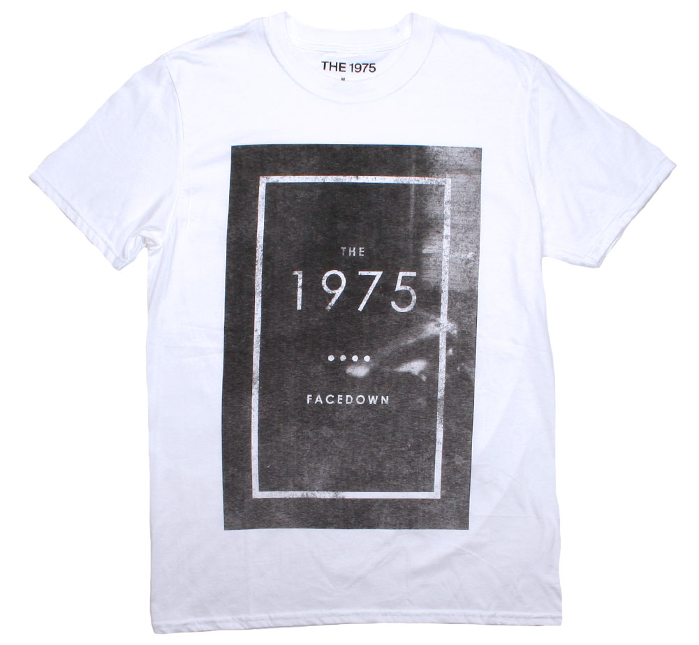 The 1975 / Facedown Tee (White)