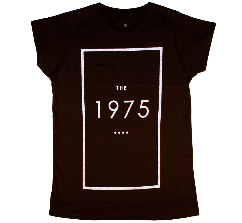 The 1975 / Original Logo Tee (Black) (Womens)
