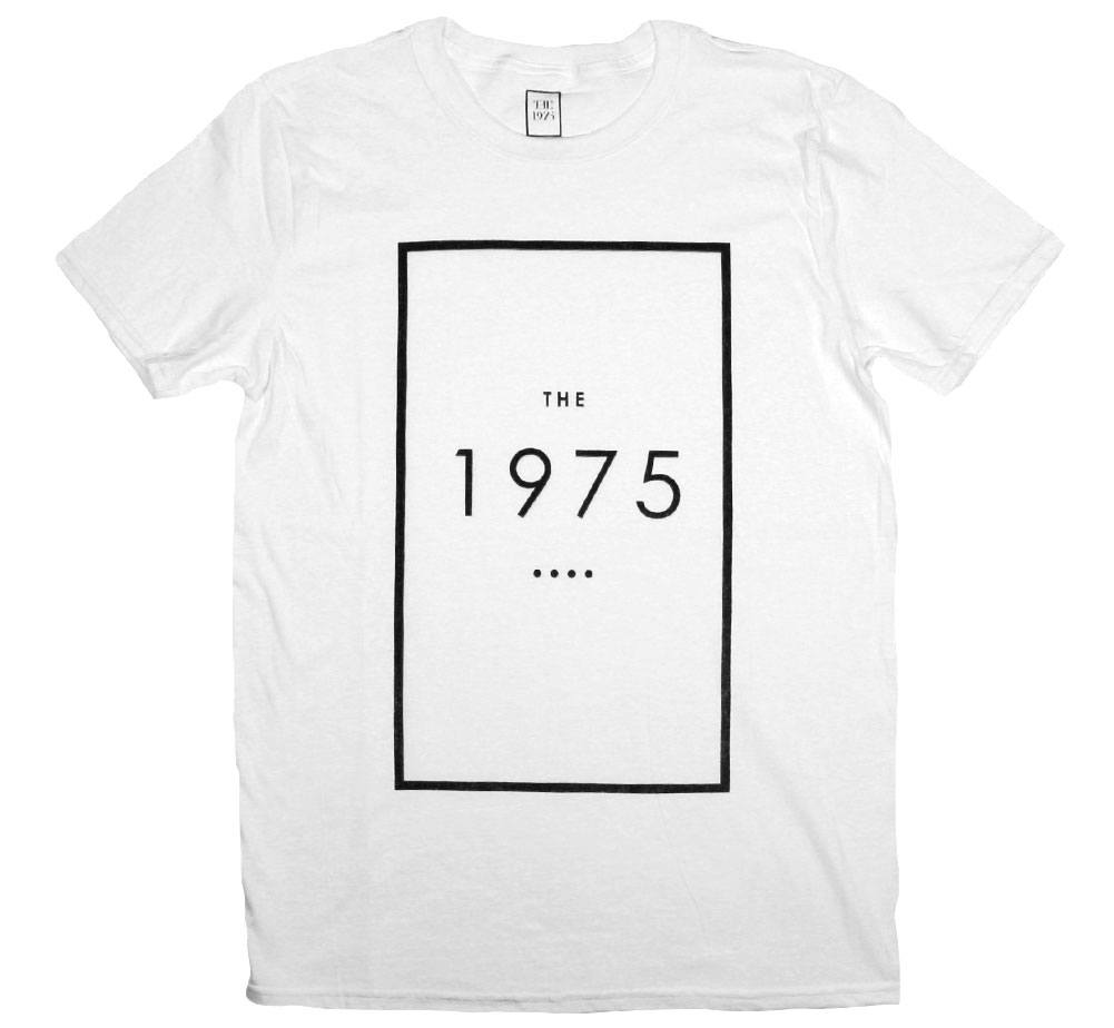 The 1975 / Original Logo Tee (White)