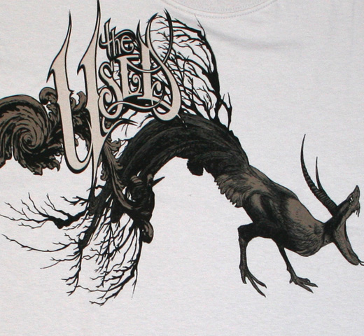 The Used / Chicken Monster Tee (Silver Gray)