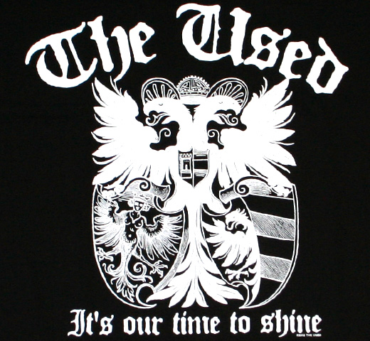 The Used / It's Our Time To Shine Tee