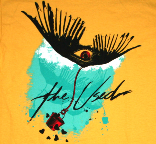 The Used / Winged Eye Tee