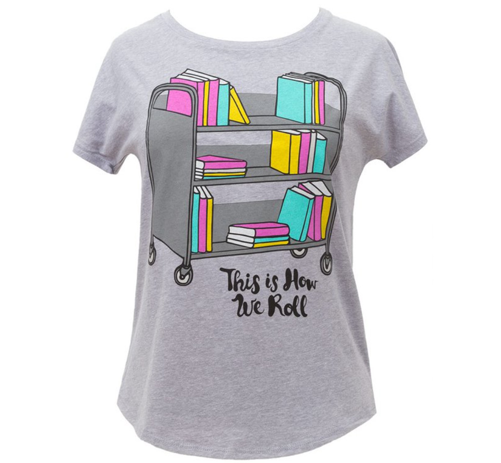 【Out of Print】 This is How We Roll Dolman Tee (Heather Grey) (Womens)