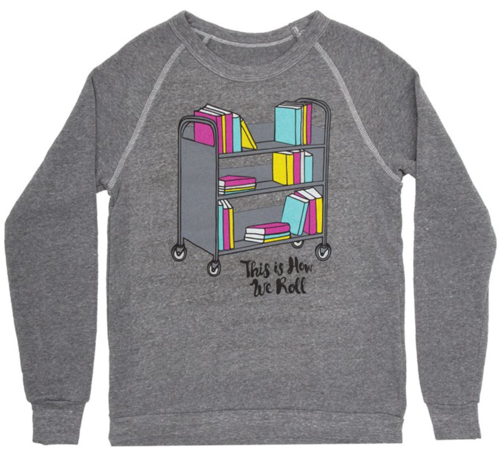 【Out of Print】 This is How We Roll Sweatshirt (Grey)