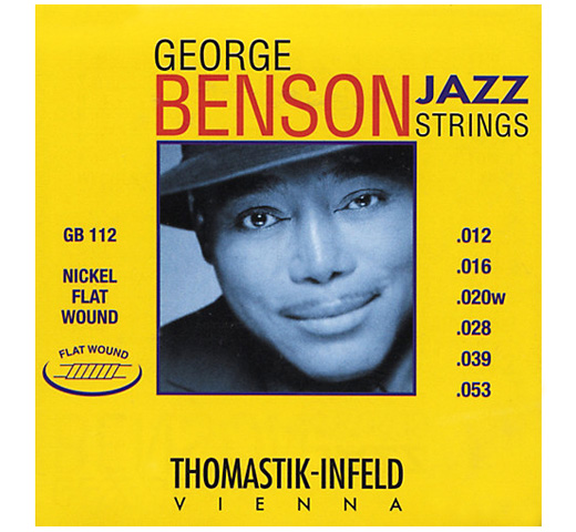 【Thomastik-Infeld】 George Benson Jazz Strings GB112 (.012-.053)