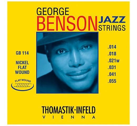 【Thomastik-Infeld】 George Benson Jazz Strings GB114 (.014-.055)