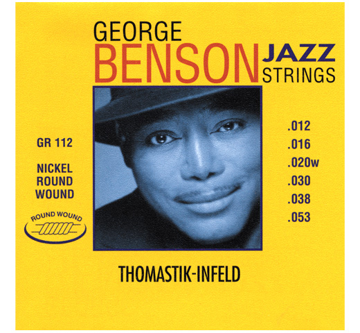 【Thomastik-Infeld】 George Benson Jazz Strings GR112 (.012-.053)
