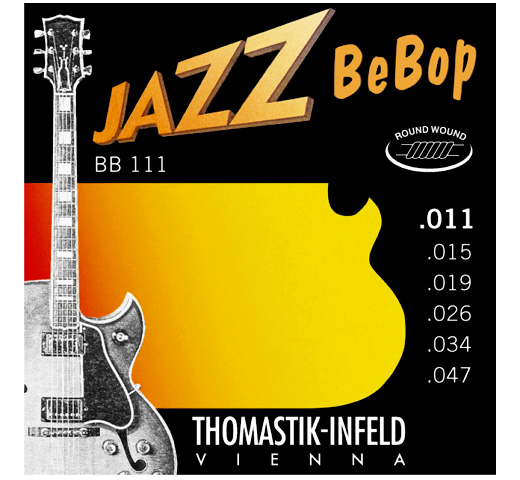 【Thomastik-Infeld】 Jazz BeBop BB111 (.011-.047)