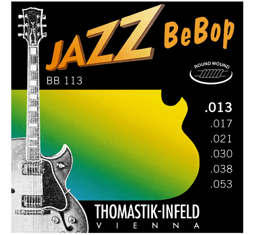 【Thomastik-Infeld】 Jazz BeBop BB113 (.013-.053)
