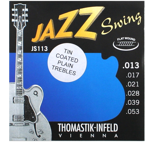 [Thomastik-Infeld] Jazz Swing JS113 (.013-.053) (Tin Plated)