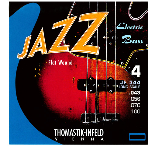 "【Thomastik-Infeld】 Jazz Electric Bass JF344 Long Scale 34"" (.043-.100)"