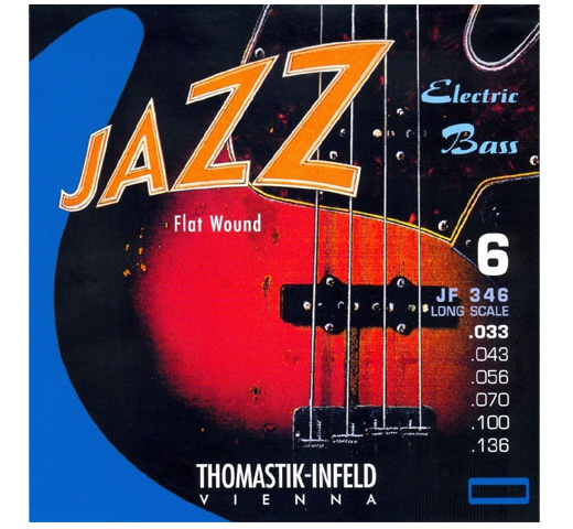 "【Thomastik-Infeld】 Jazz Electric Bass JF346 Long Scale 34"" (.033-.136)"