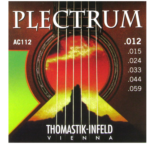 【Thomastik-Infeld】 PLECTRUM AC112 (.012-.059)