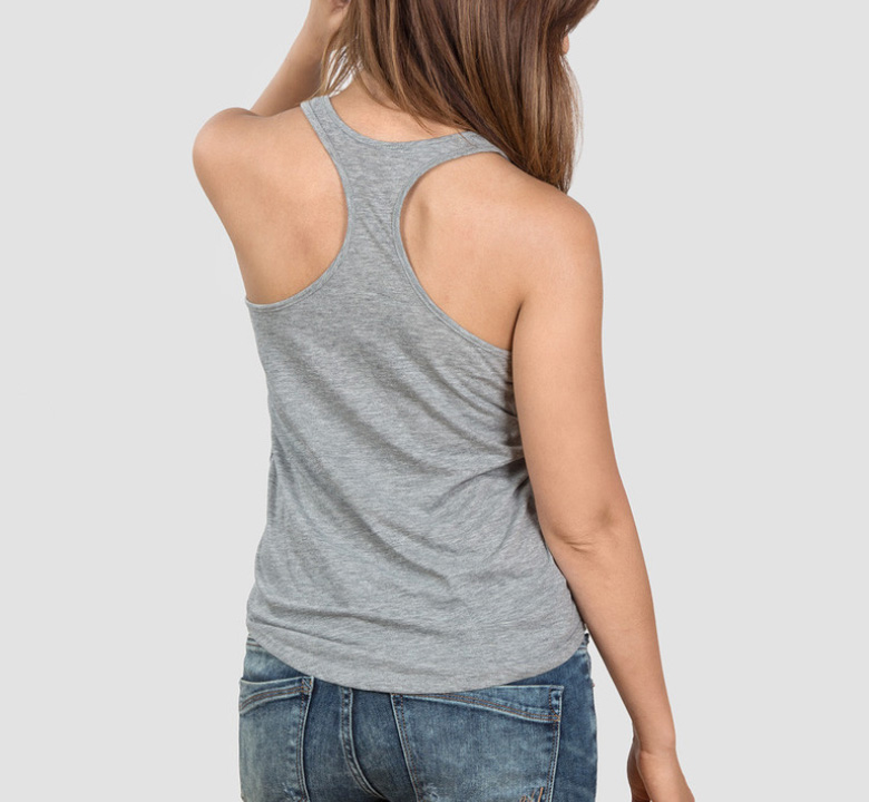 【Out of Print】 Harper Lee / To Kill a Mockingbird Tank Top (Heather Grey) (Womens)
