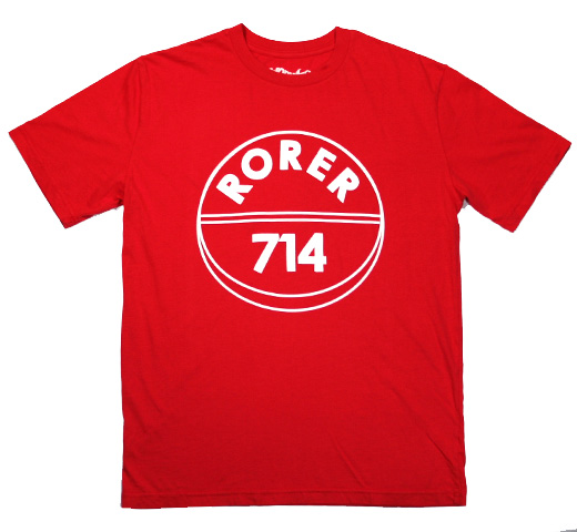 【Worn Free】 Tommy Chong / Rorer 714 Tee (Red)