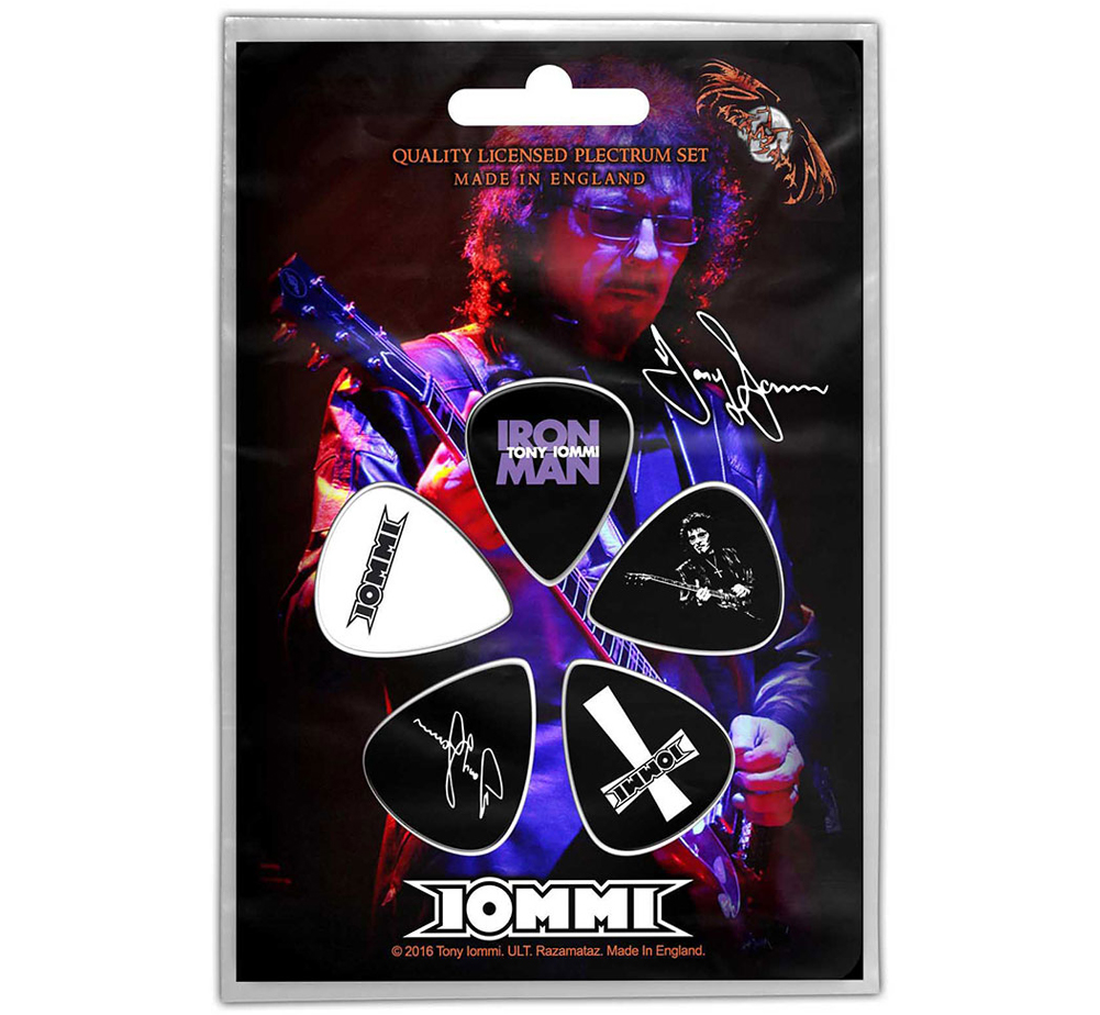 Tony Iommi / Plectrum Pack