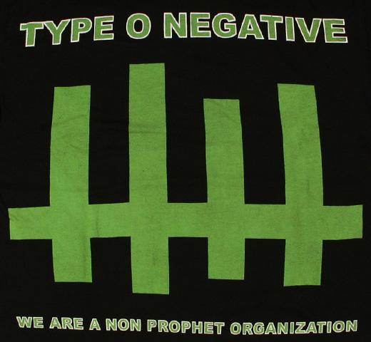 Type O Negative / Skeletour 2007 Tee