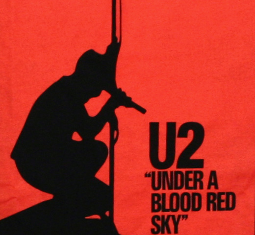 U2 / Under a Blood Red Sky Tee (Black)