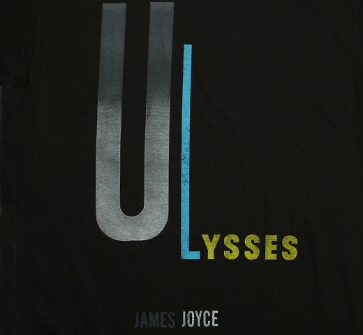 【Out of Print】 James Joyce / Ulysses Tee (Black)