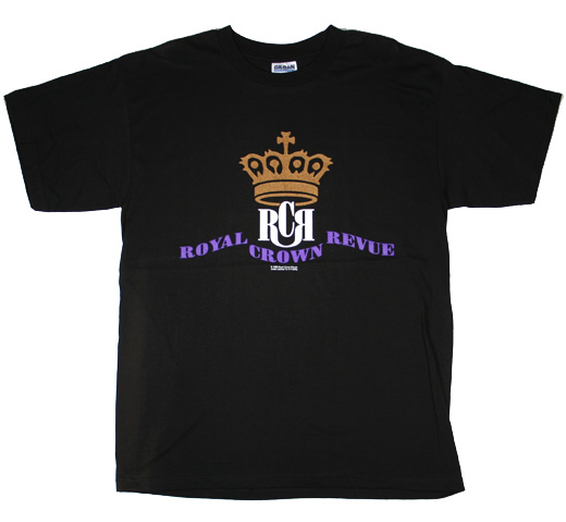 Royal Crown Revue / Logo Tee (Used)