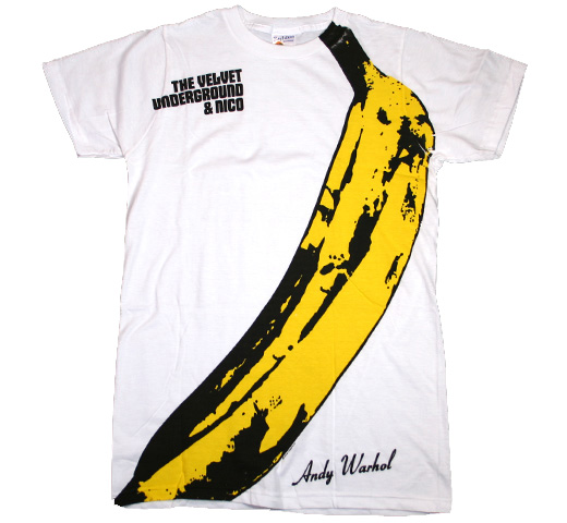 The Velvet Underground & Nico Banana Big Print Subway Tee