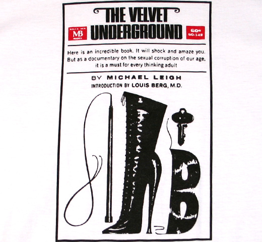 The Velvet Underground / Book Cover Tee