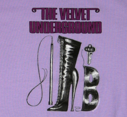 The Velvet Underground / Boot Tee (Ladies)